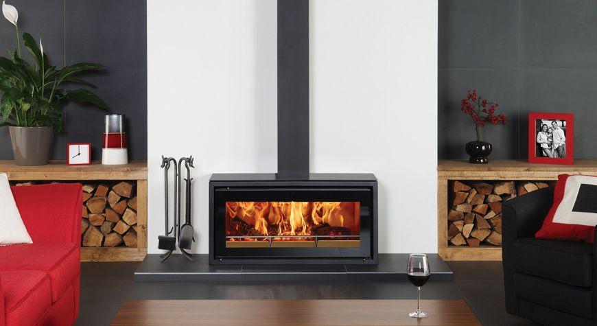 Studio 2 Freestanding Wood Burning Stove Stovax Stoves Contemporary Wood Burning Stoves Modern Wood Burning Stoves Wood Burner