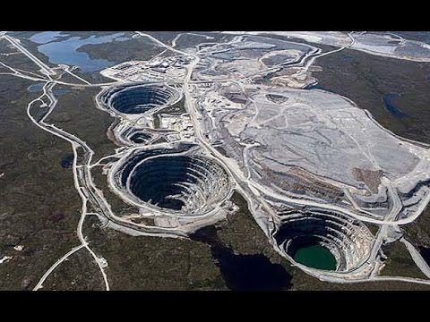 Documental Mina de Diamante Mas Grande del Mundo | Documentales de Discovery Channel en Español - YouTube