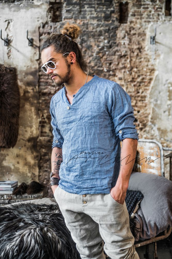 Paulina Arcklin By Pia 39 S Linen For Men Lifestyle Fashion Paulina