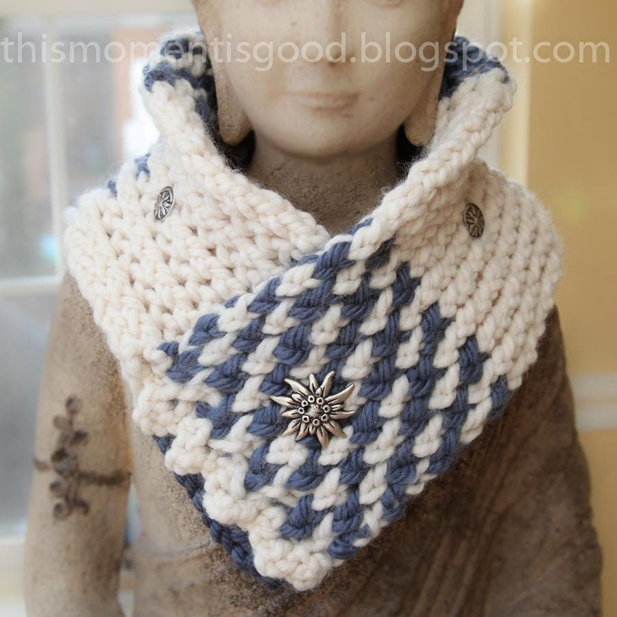 This Moment is Good...: LOOM KNIT SAMPLER COWL/SCARF. Free loom ...