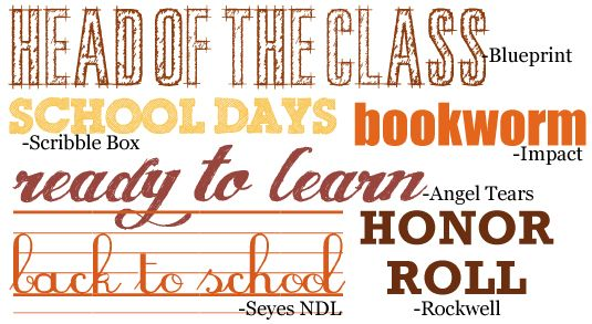 """Hallmark Images of School