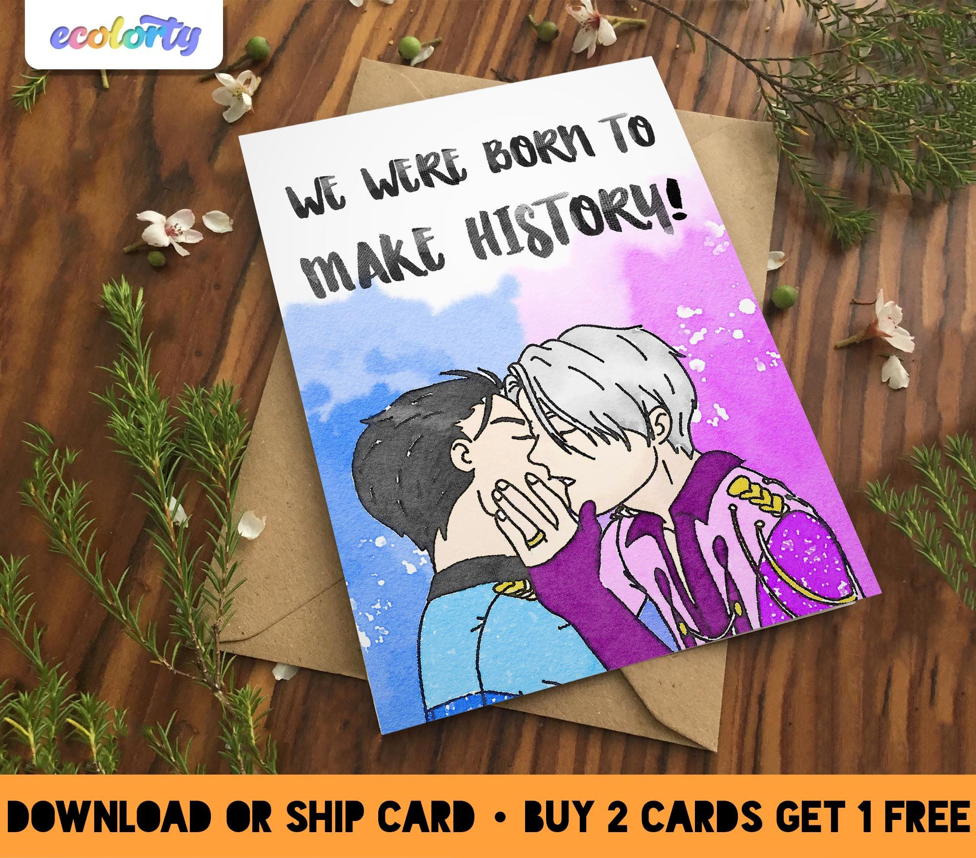 Free bisexual greeting cards