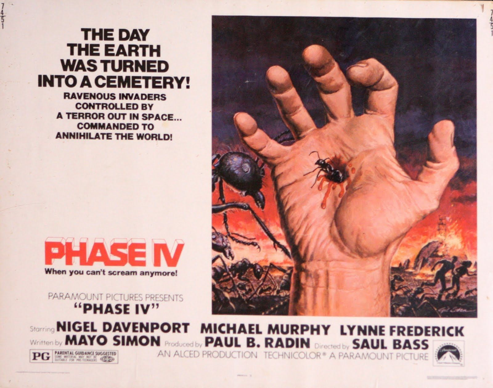 "The 1st 7min 35sec of ""Phase I"" from the film: ""Phase IV ..."