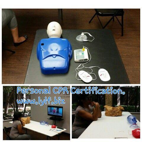 CPR AED & First Aid Certification / Renewal. www.lylf.biz | CPR ...