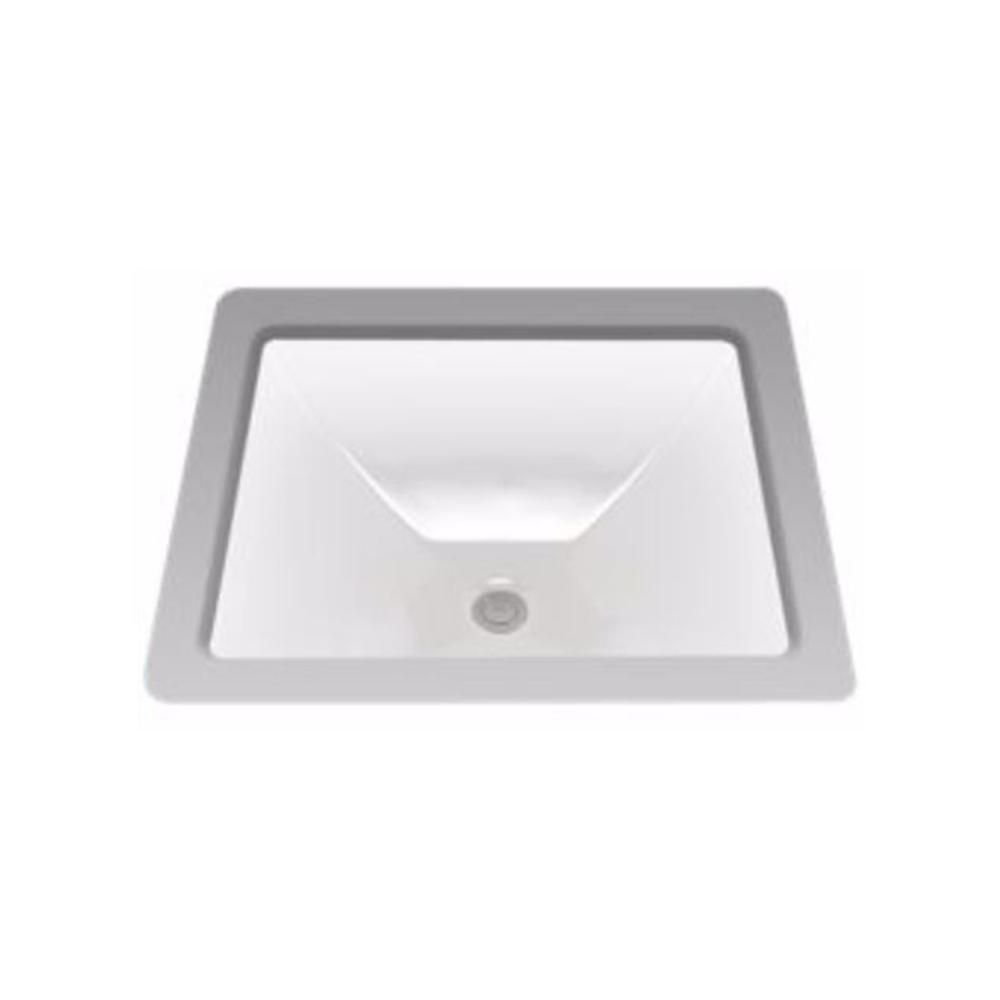 TOTO Legato Undermount Bathroom Sink in Cotton White | Products