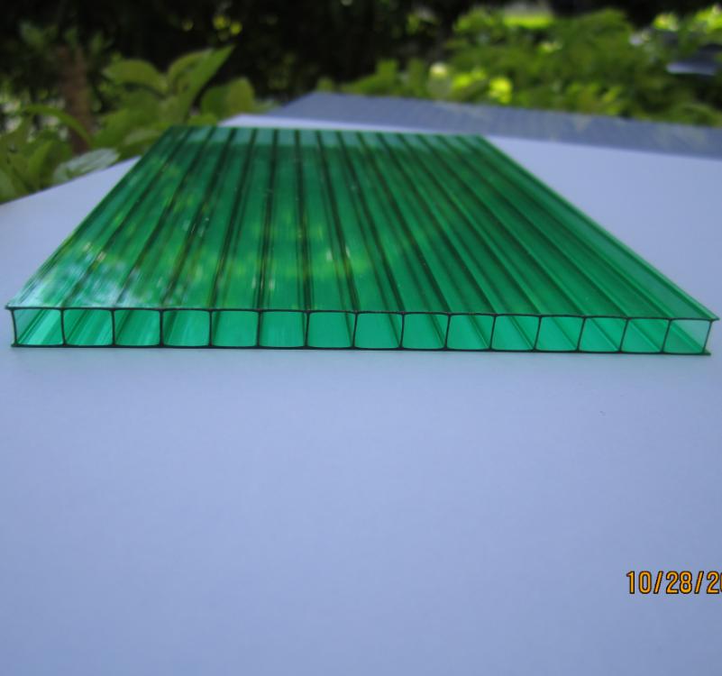 100% Lexan Material 10 years Guarantee Polycarbonate Hollow