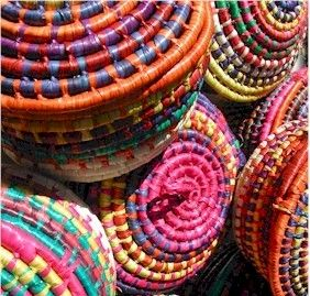 d28fae21745 classic traditional Mexican Baskets - love the colors