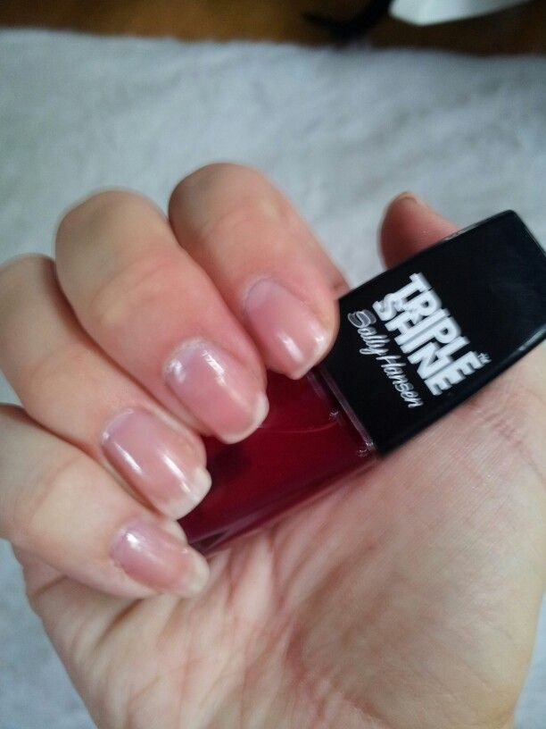 Dupe For Dior Nail Glow Sally Hansen Triple Shine Palm Beach Jellies In Thr Color Jealous