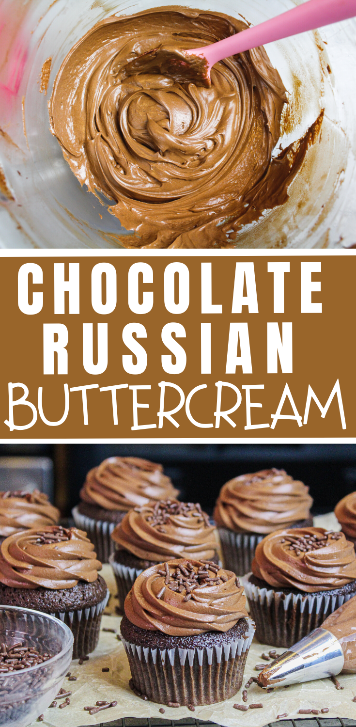 Chocolate Russian Buttercream Simple 5 Ingredeint Recipe Recipe In 2020 Frosting Recipes Easy Frosting Recipes Best Frosting Recipe