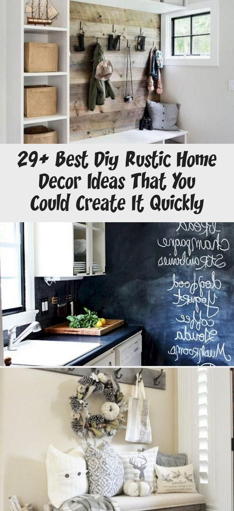 29 BEST DIY RUSTIC HOME DECOR IDEAS THAT YOU COULD CREATE
