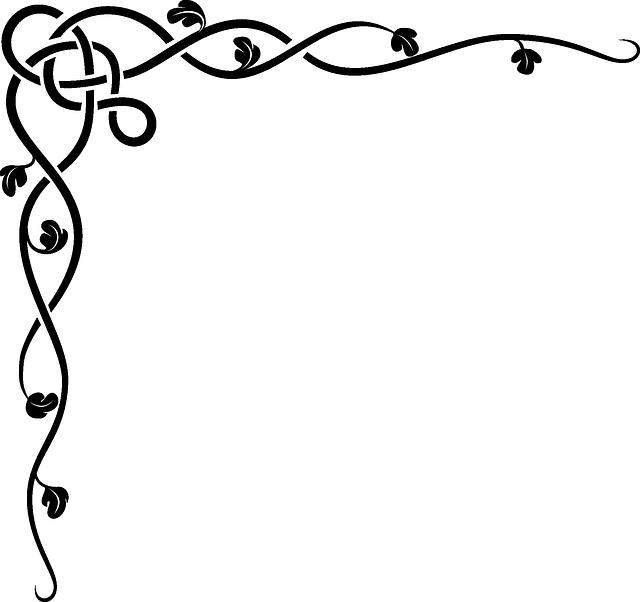 Free Image On Pixabay Border Flourish Celtic Corner Grecas Decorativas Marcos Para Etiquetas Cliparts Gratuitos