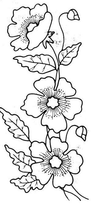 Flores Hermosas Mis Mas Bonitas Manualidades Embroidery