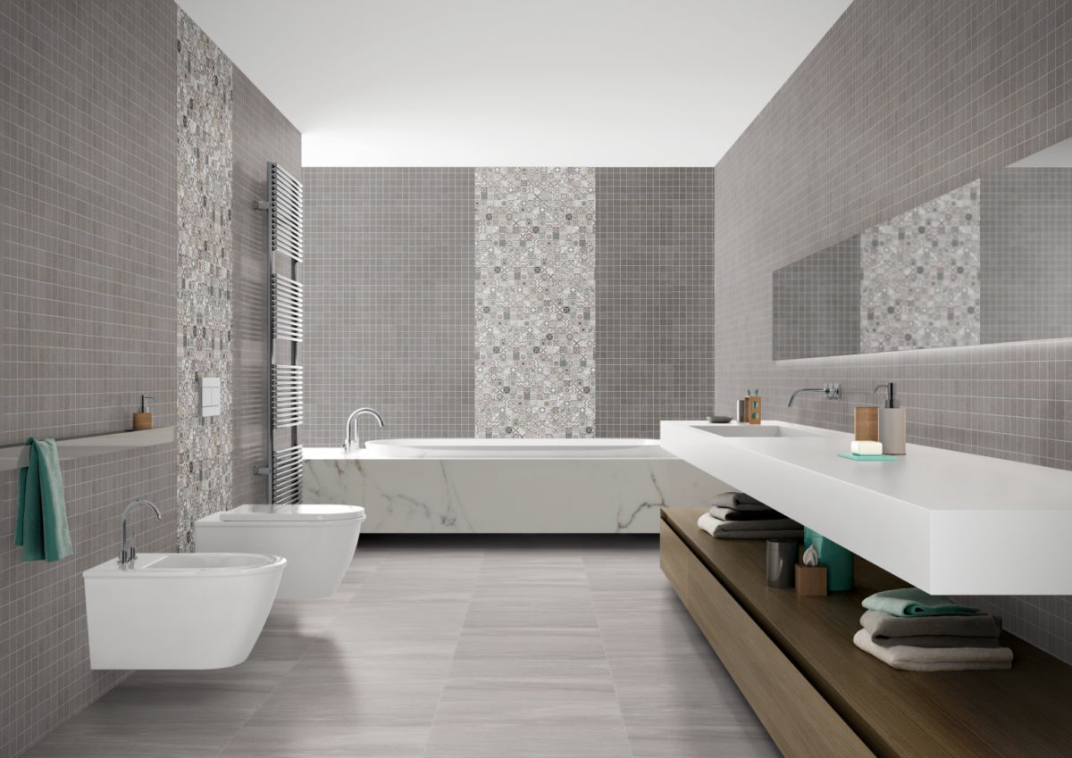 Mosaikfliesen Im Bad Badezimmer Inspiration Badezimmerideen Badezimmer
