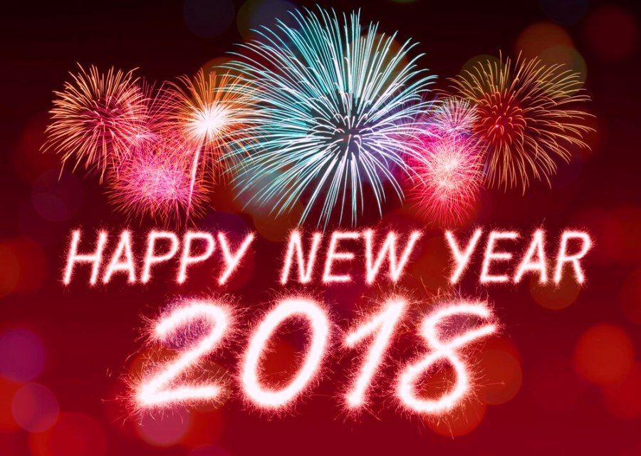 hd happy new year 2018 hq wallpaper pics photos download