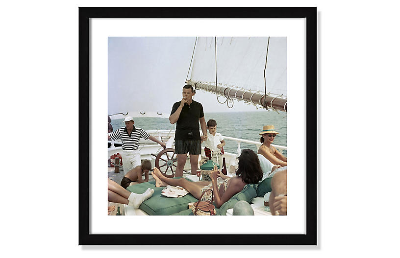 Photos by Getty Images - Slim Aarons, Black Pearl Trippers