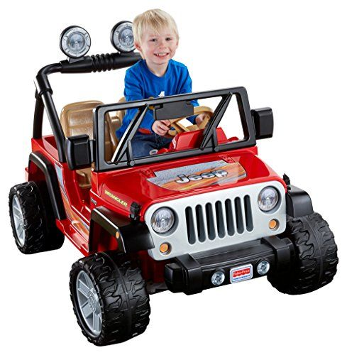 Power Wheels Jeep Wrangler Lava Red Black Carros