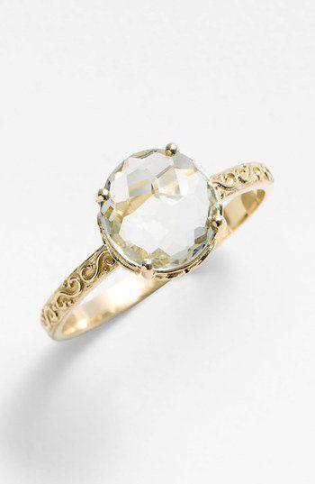 KALAN by Suzanne Kalan Round Stone Filigree Ring  4ba7a6d79312