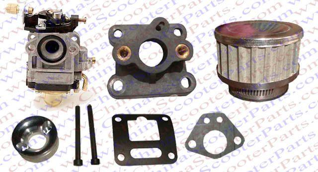Hp 15mm Carb Kit 47cc 49cc Mini Moto Quad Atv Dirt Pit Bike Cross Carburetor Atv Quads Atv Pit Bike