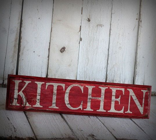 Wall Signs Decor Pleasing Reclaimed Painted And Distressed Wood Sign  Rustic Home Decor Review