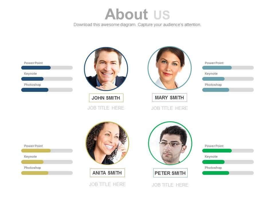 Meet The Team Powerpoint Template Free Meet The Team Powerpoint
