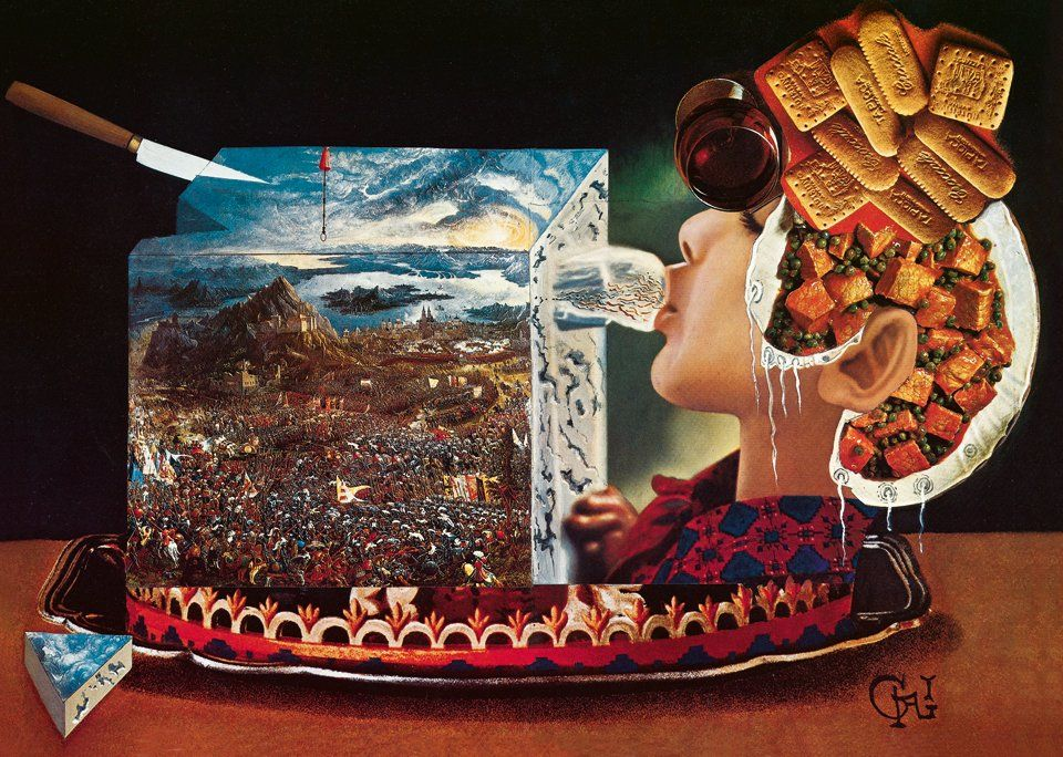 En lo más fffres.co: Taschen reedita el libro de recetas eróticas de Dalí:… #Art #les_diners_de_gala #salvador_dalí #pinturas #surrealista