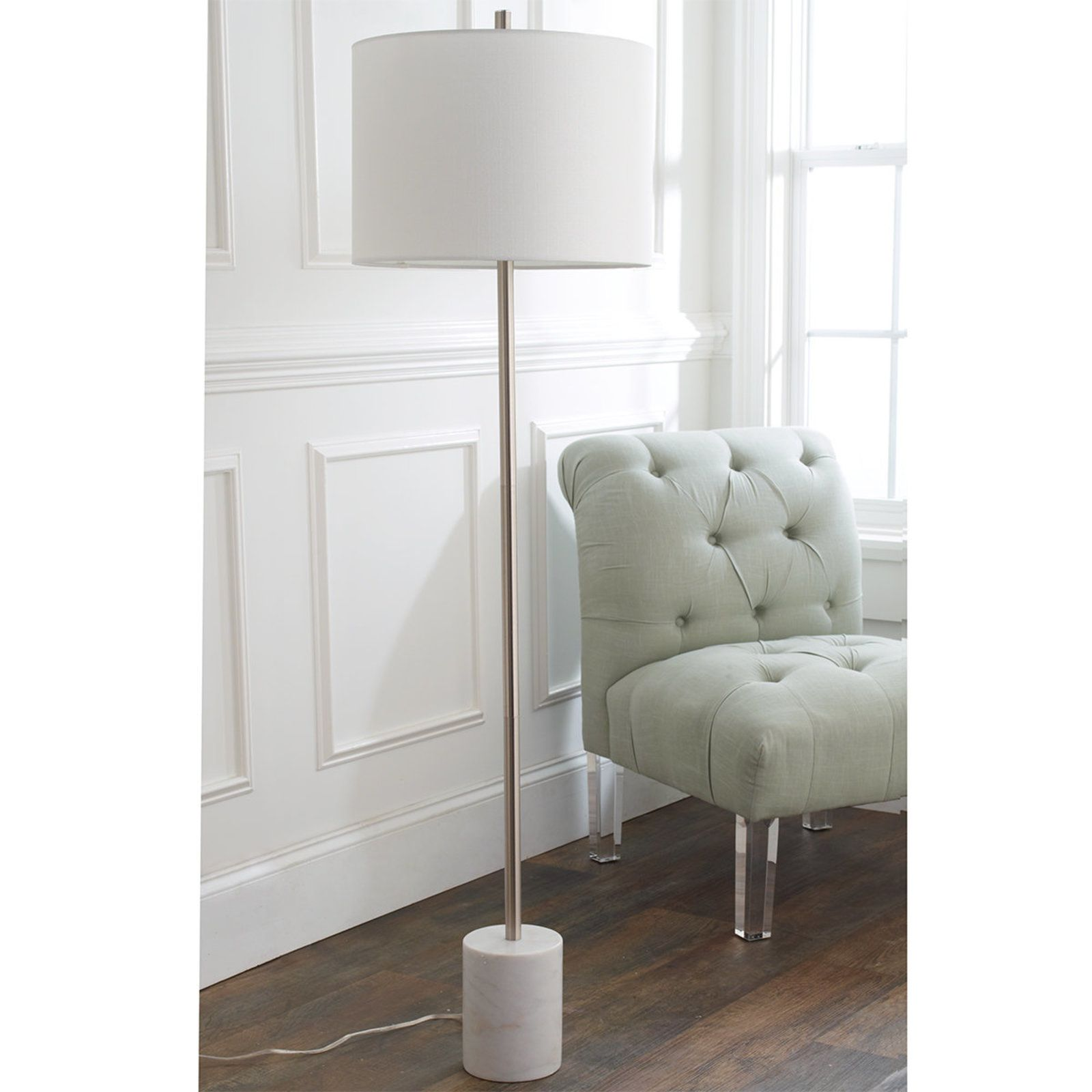 Modern marble base floor lamp floor lamp marbles and modern modern marble base floor lamp aloadofball Image collections