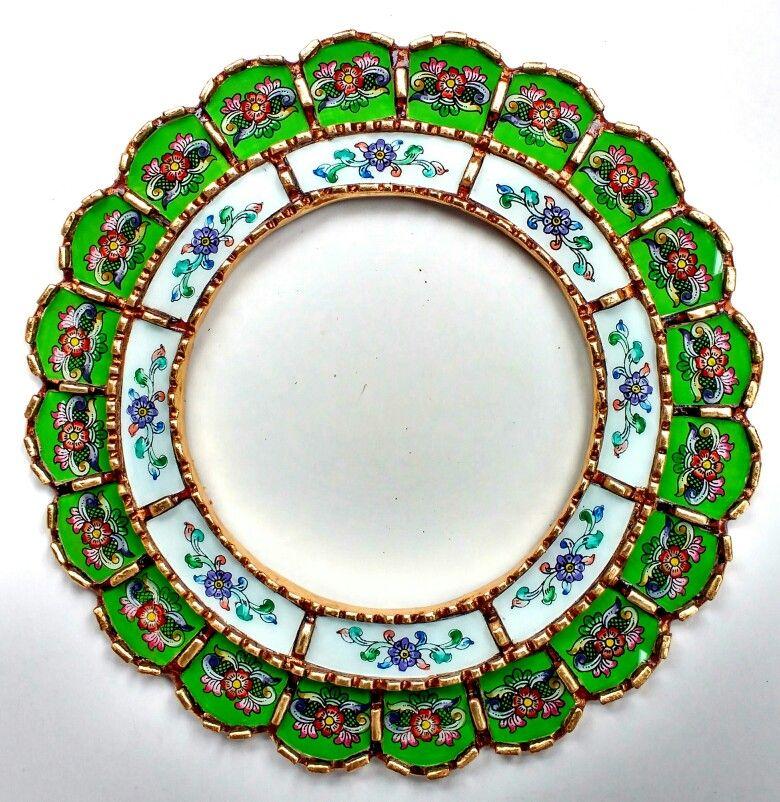 espejo peruano vidrio pintado | espejos peruanos | Pinterest ...
