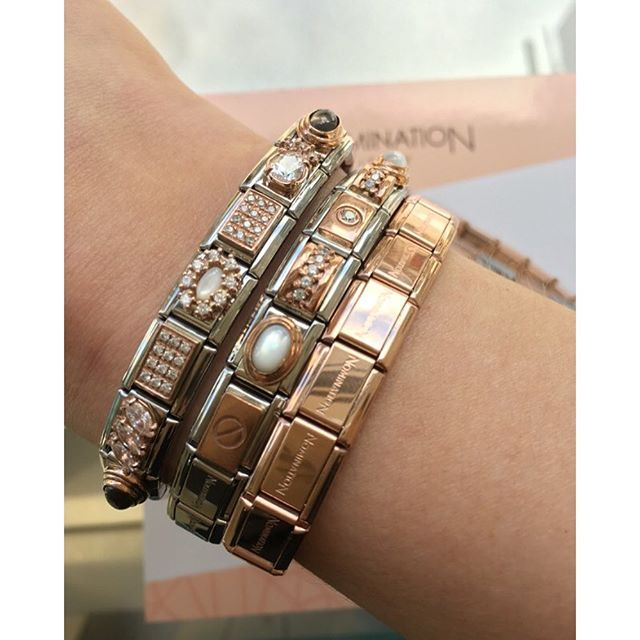Nomination Rose Gold COUTURE Collection Charms and Bracelet.  Nomination   Rose… 4aa021520986