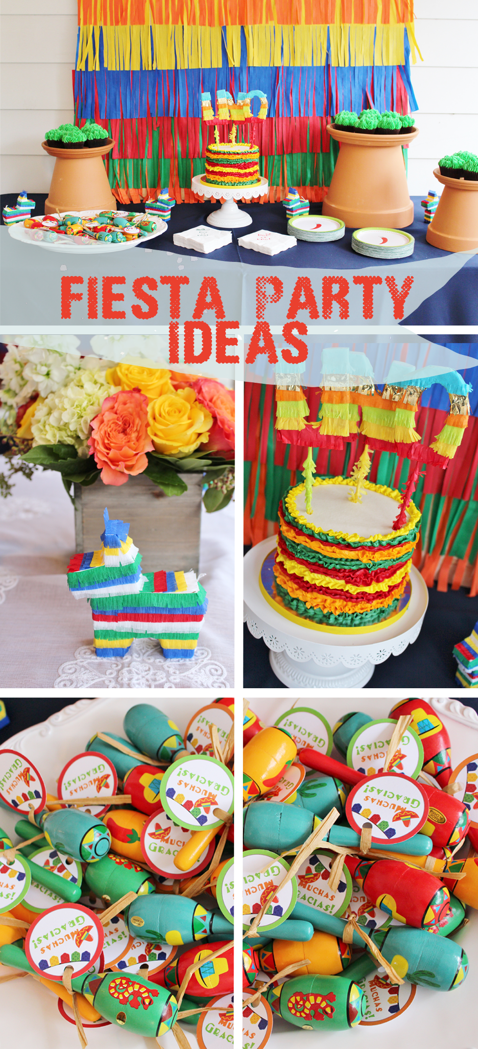 Dos es Uno A Fiesta Inspired 1st Birthday Party Fiesta party