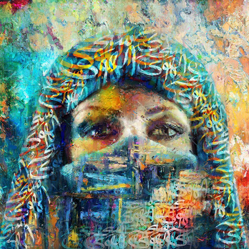 Arabian beauty sannib creative paintings london