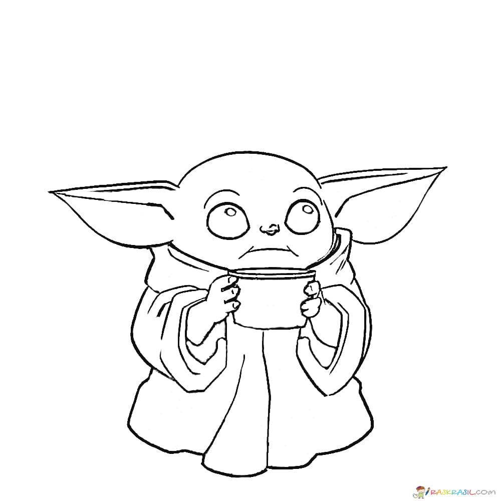 Coloring Pages Baby Yoda The Mandalorian And Baby Yoda Free Coloring Pages Unique Coloring Pages Free Coloring