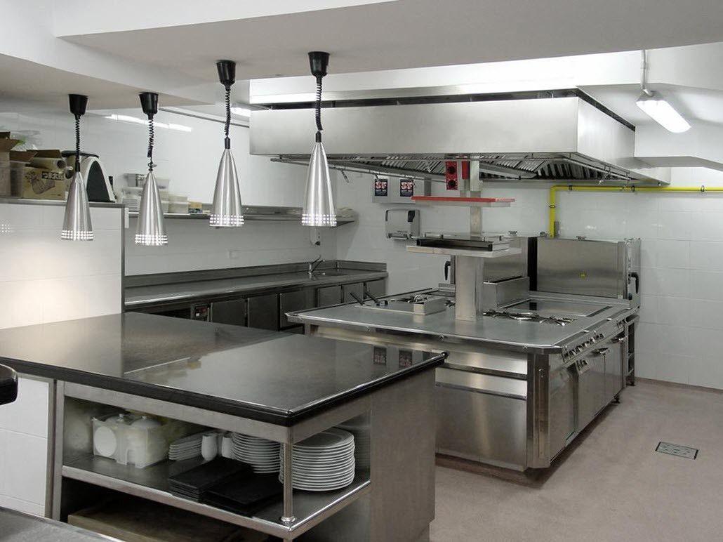 Equipos de cocina para restaurantes planeaci n y dise o for Medidas cocina restaurante