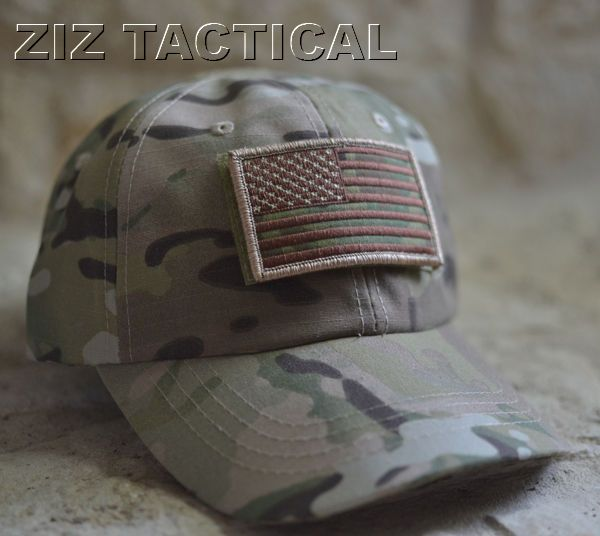 Multi-Cam Special Forces Operator Tactical American US Flag Velcro Patch  Hat Cap  CAP  BaseballCap eb10e3189a3