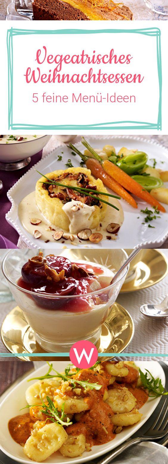 Weihnachtsessen: 5 vegetarische Menü-Ideen #vegetariandish