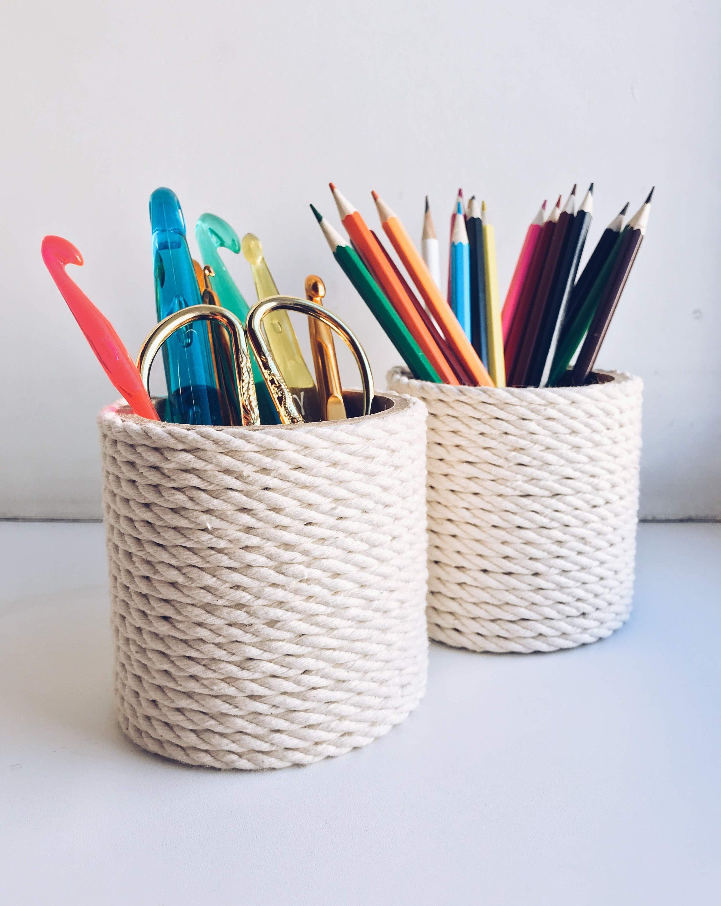 How To Make A Colored Pencil Storage Carousel Tutorial This Is