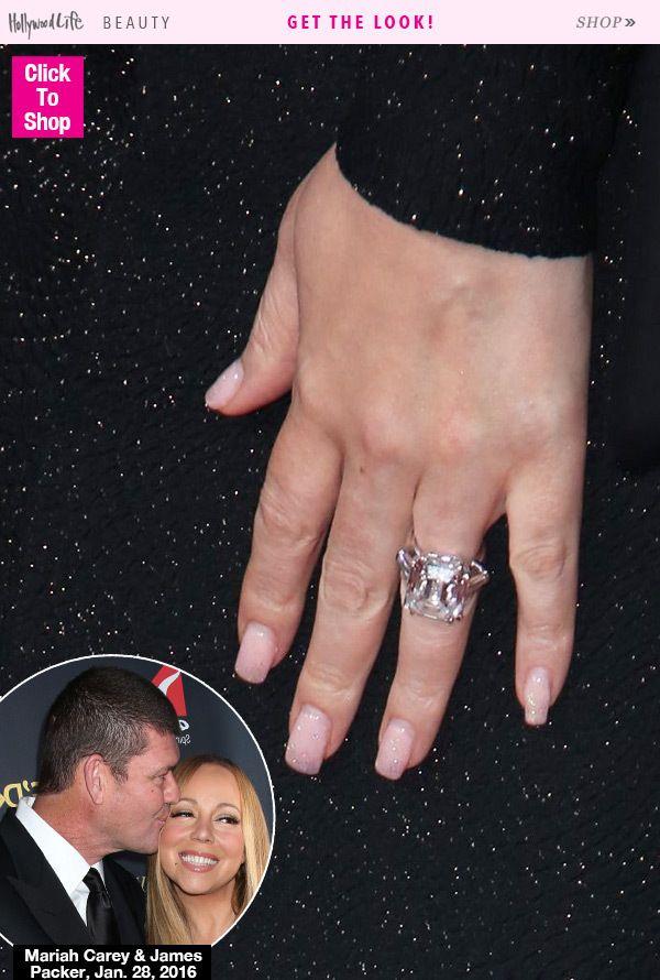 Mariah Carey First Close Pic Of 10 Million 35 Carat Engagement Ring Mani Celebrity Engagement Rings Mariah Carey Engagement Ring Fabulous Bling