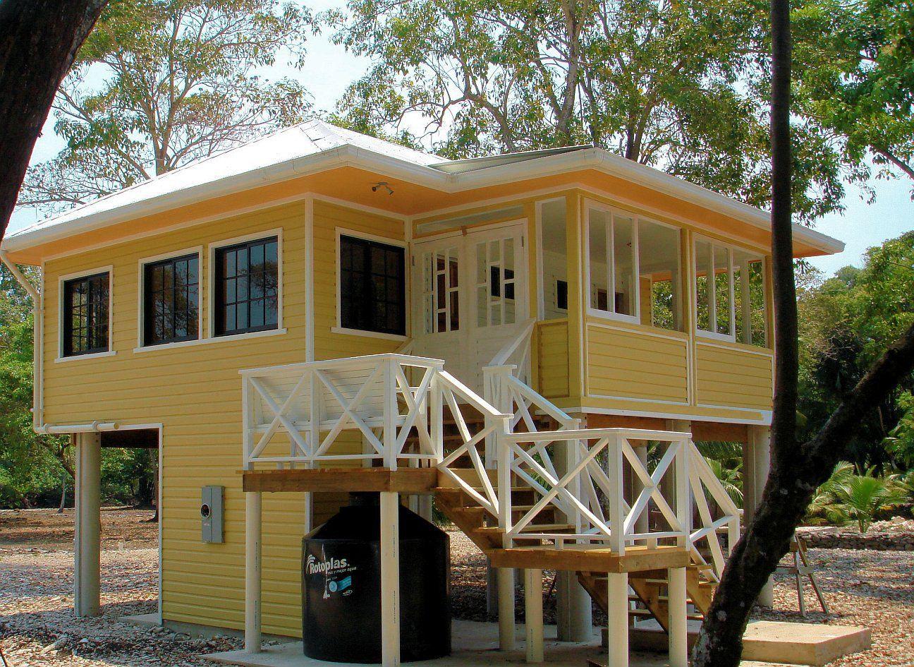 Gallery A Small Beach House On A Caribbean Island Small Beach Houses Small Beach Cottages Small Beach House Plans