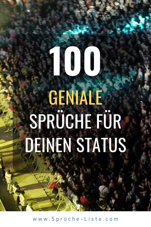 Photo of 100 Geniale Sprüche für Deinen Status