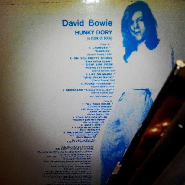 Joyas en mi discografía. David Bowie. Año 1972.