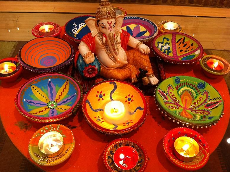 Diwali decorations ideas for office and home diwali for Home decorations ideas for diwali