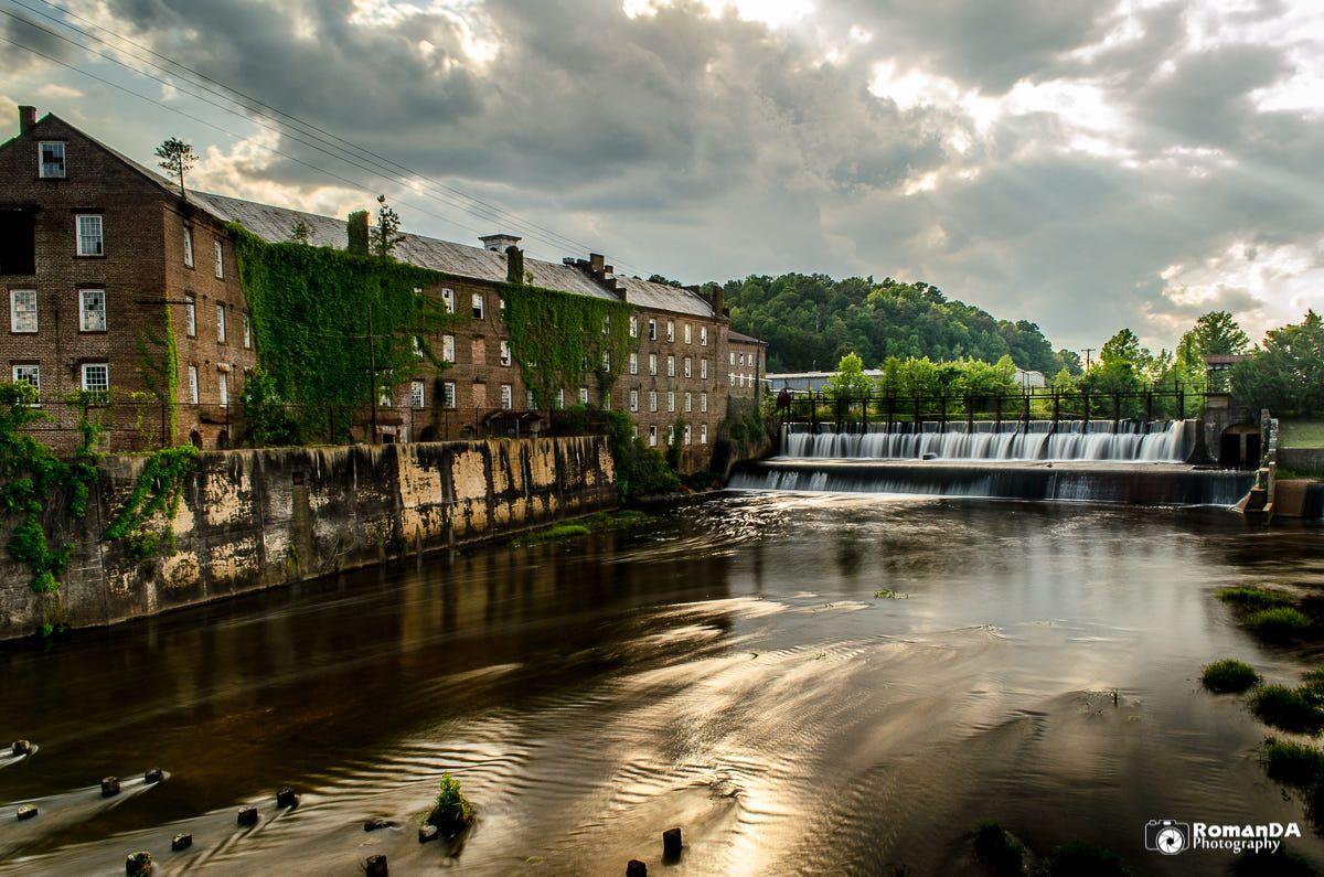 Prattville Mill/Dam by RomanDA Photography Alabama