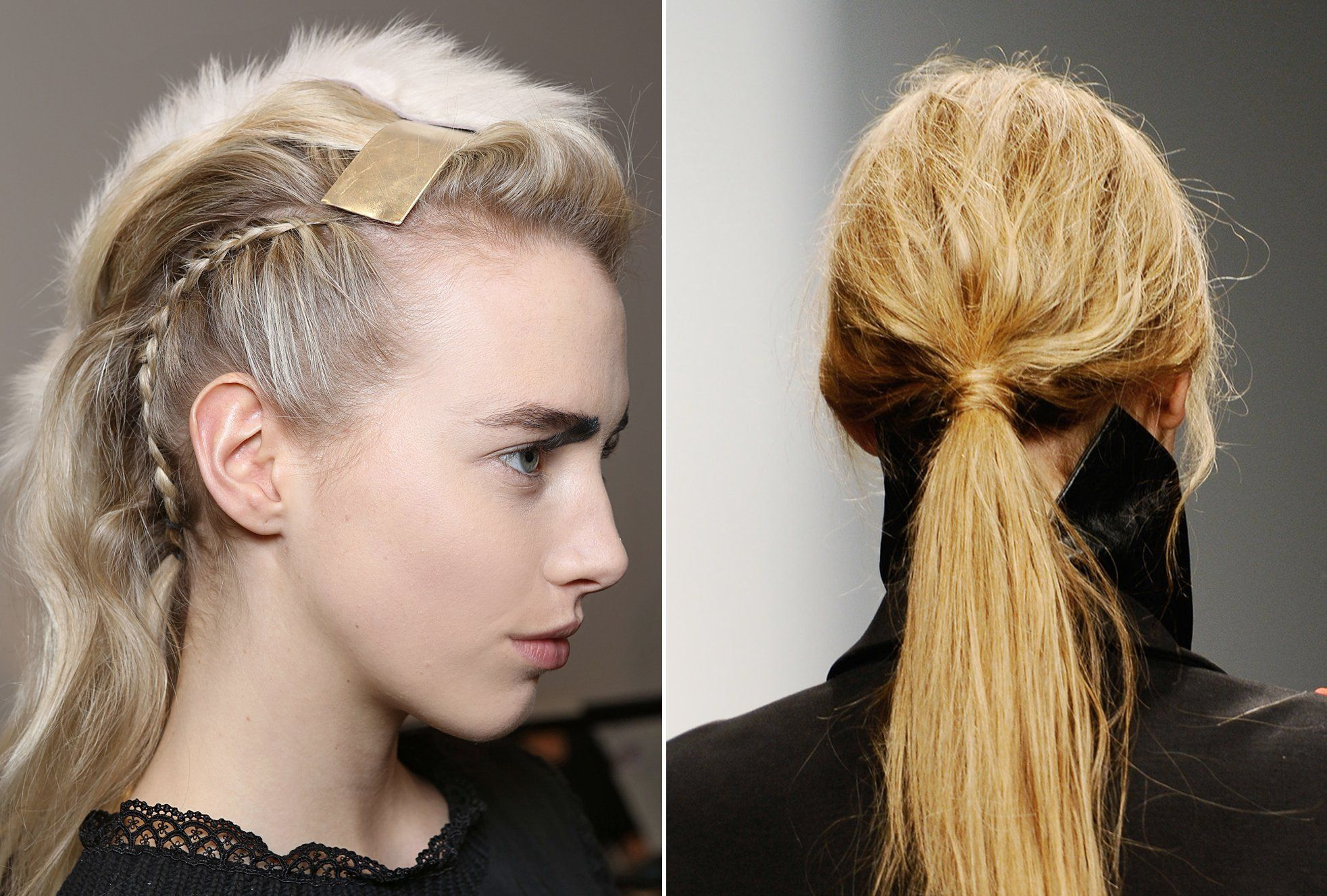 NYFW Hair Trends Twist oder Zopf