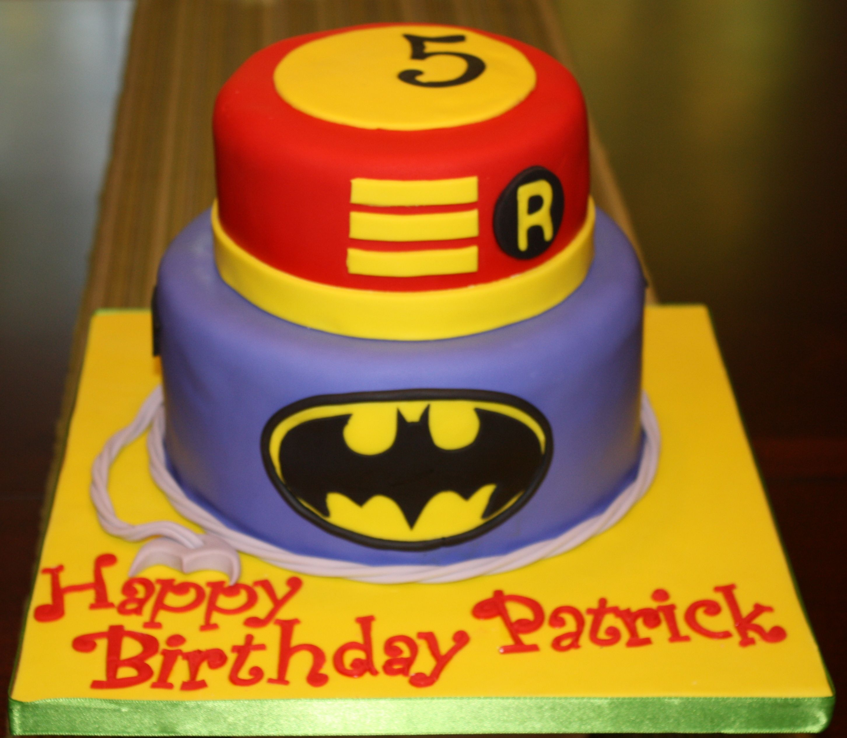 Batman And Robin Super Heroes Cakes Cookies Pinterest Robins