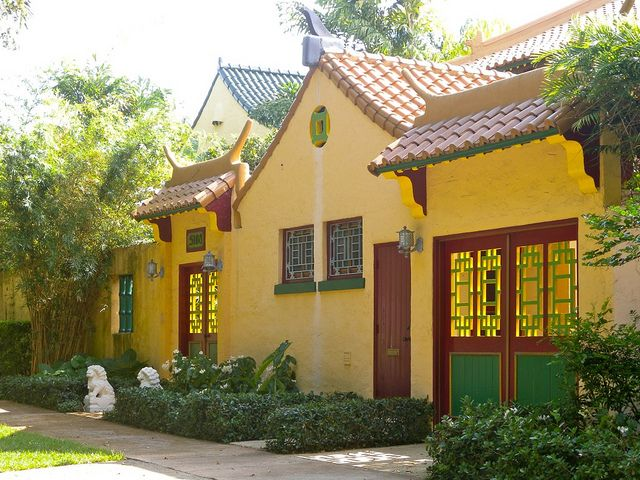 Chinese Village In Coral Gables 06 Coral Gables Coral Gables Florida Old Houses