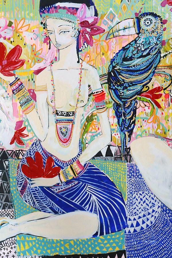 Art Jai Vasecek Art, Artwork, Whimsical art