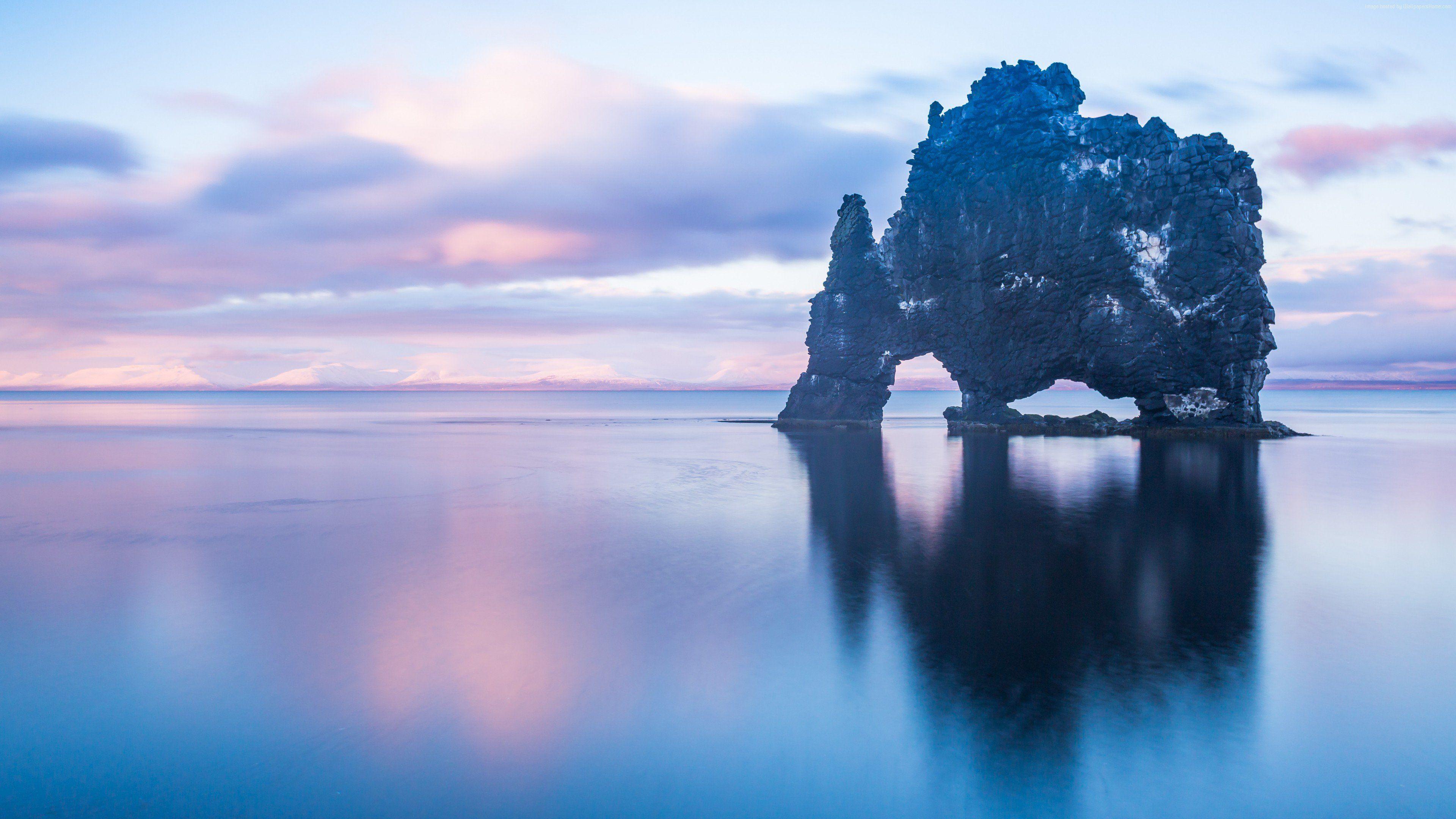 Ocean Rock Iceland 4k Wallpaper Road Trip Usa West Iceland Valley Of Fire