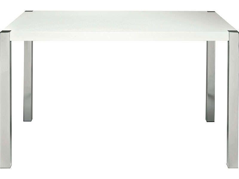 Table Rectangulaire Sunny Coloris Blanc Pas Cher C Est Sur