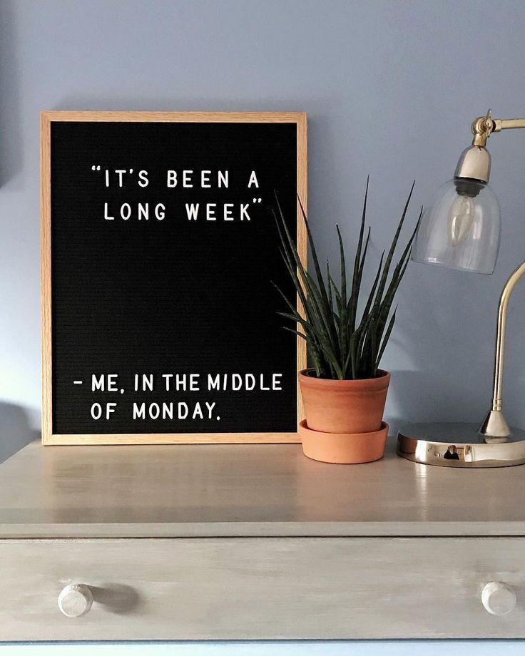 "I blame my Friday, Saturday, and Sunday self, who thinks that ""I'll just do that on Monday"" is the solution to everything. : @kelethepusharski"