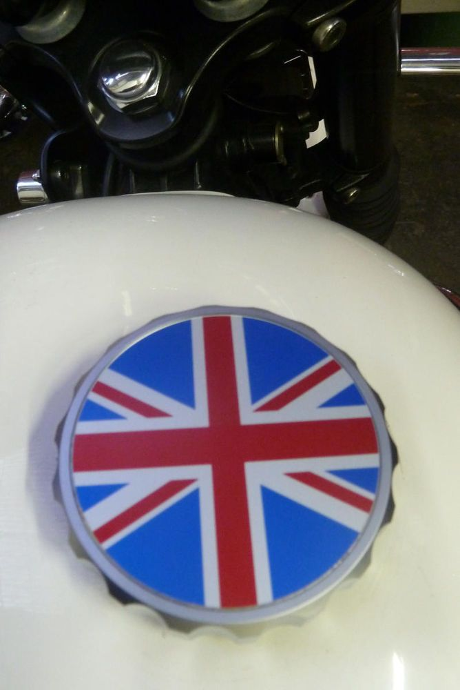 Union Jack Fuel Cap Us 49 99 New In Ebay Motors Parts Accessories Motorcycle Parts Triumph Bonneville Bonneville Triumph
