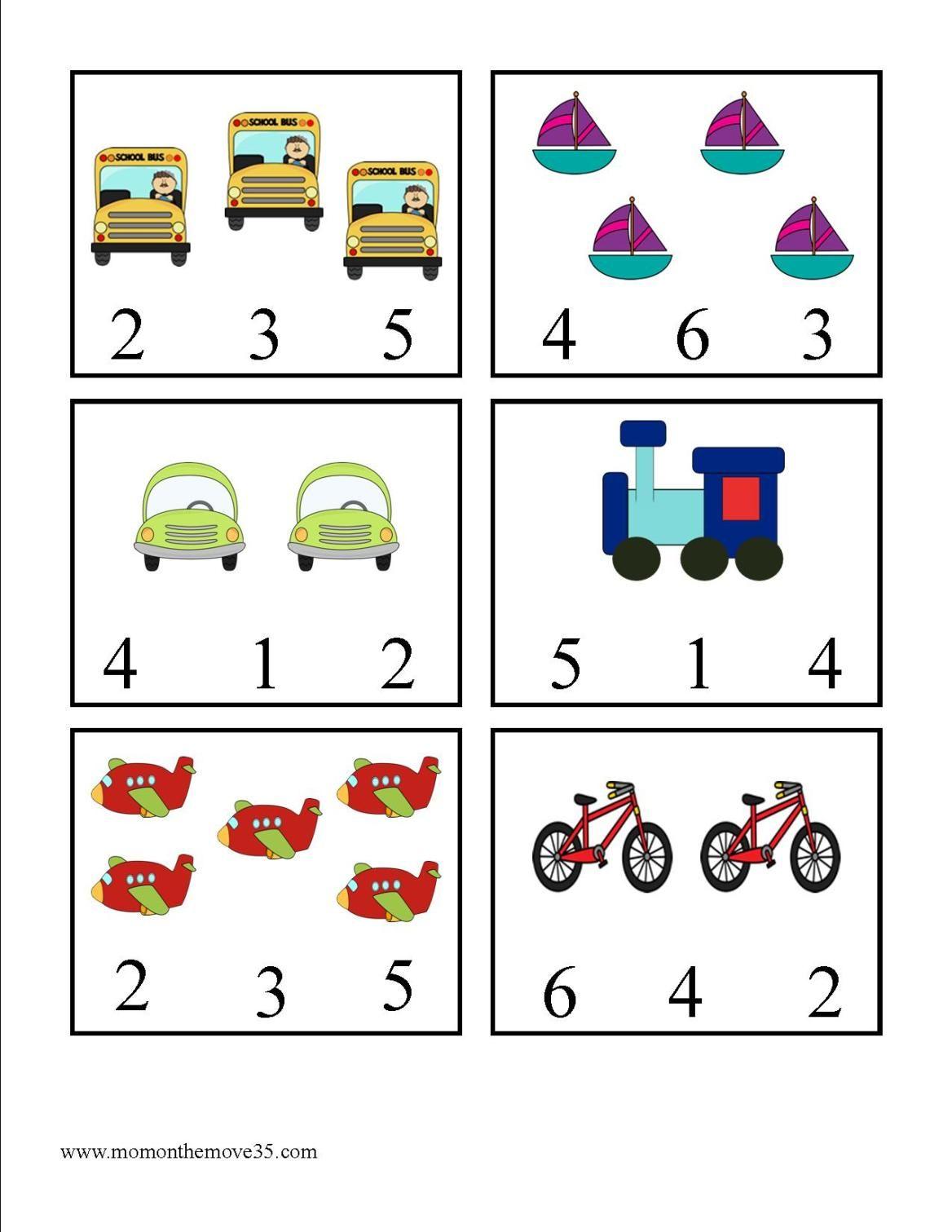 Transportation Activities For Preschoolers In